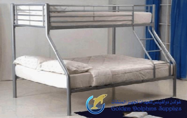 Steel Bunk Bed Supplier in UAE | Golden Dolphin Supplies