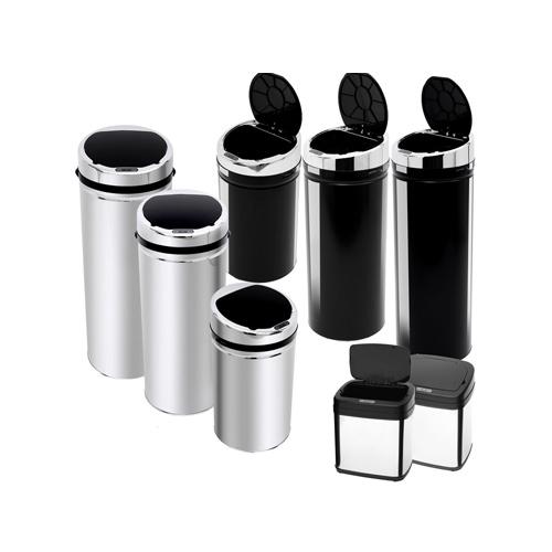 Trash-Bin-with-Sensor-Lid