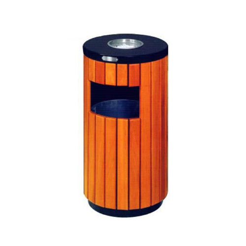 Wooden-Outdoor-Bin